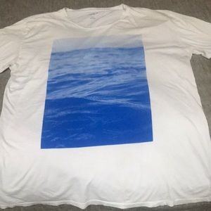 Sol Angeles printed wave t-shirt men's XL